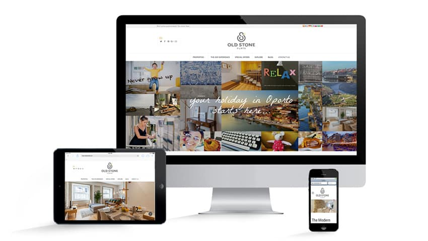 Old Stone Flats launches its new website